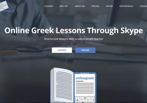 Κατασκευή ιστοσελίδας Onlinegreek.gr & διαφημιστική προώθηση στο Google AdWords